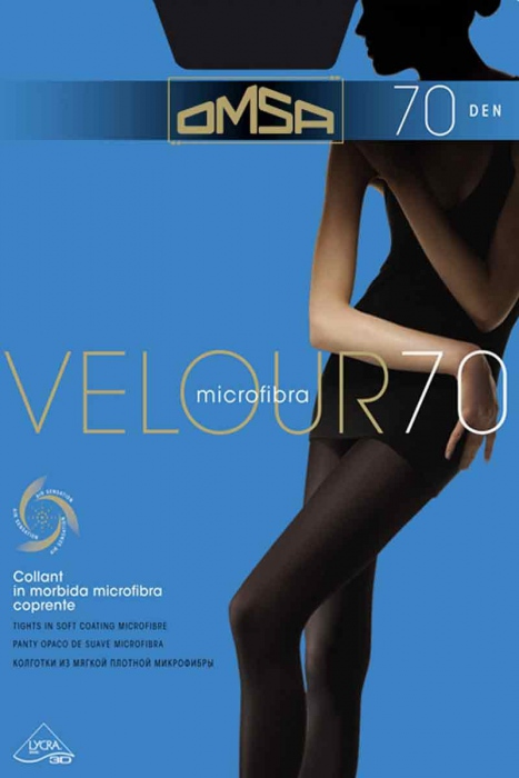 Tights Matt Velur 70 Den Omsa 248