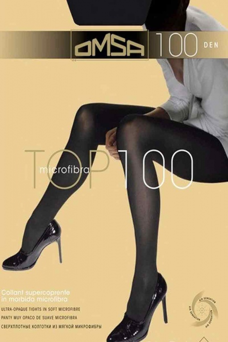 Microfiber tights Omsa 100 Den 321