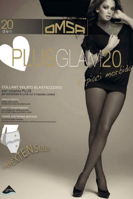 Tights 20 Den for full body Omsa 4053