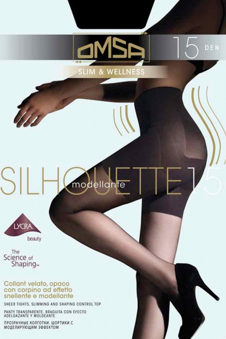 Tights Astringent Shaping Omsa 4028 15 Den