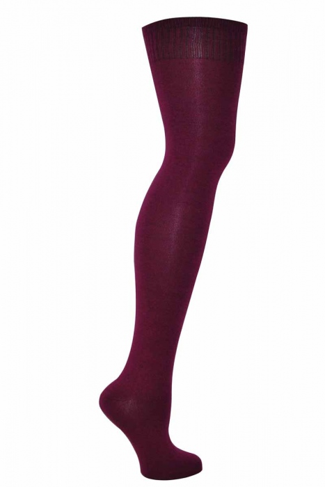 Women's knee high cotton socks