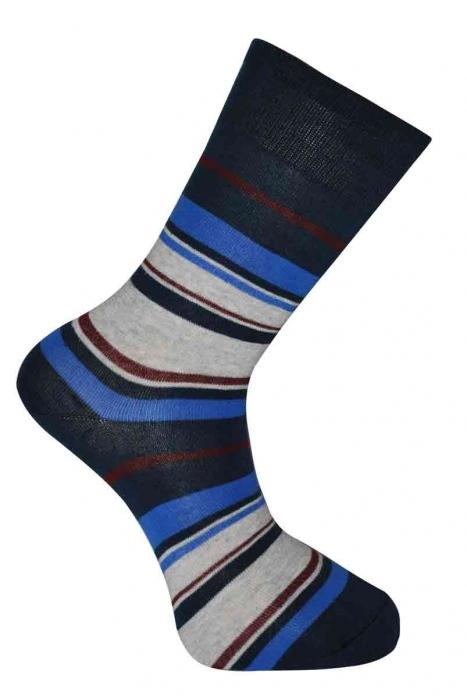 Women's patterned classic cotton socks