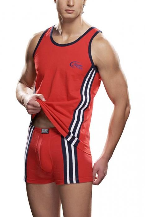 Men's Sport 100% Cotton Vest & Tank Top Lord 183