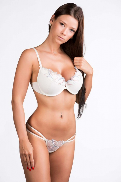 Women's Lace Set Bra & G-string Panties 4088-2244