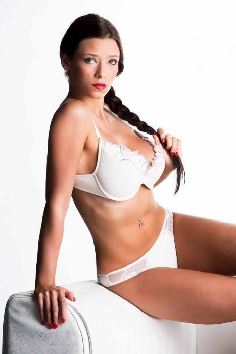 Women's Lace Set Bra & Thong Panties 4088-2277