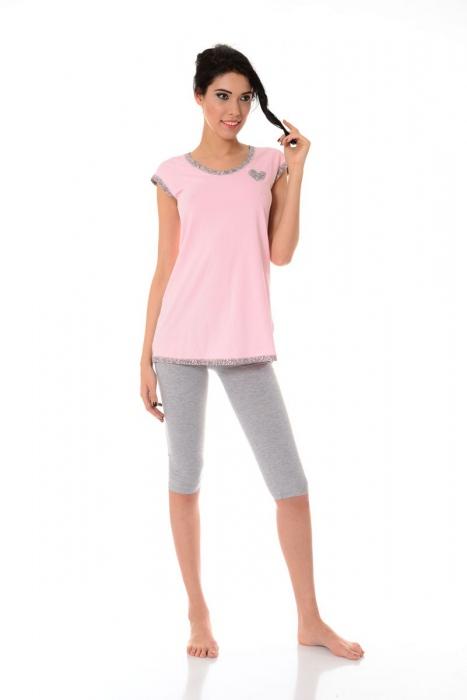 Women's Pajamas Shirt sleeves & 3/4 leggings 1453