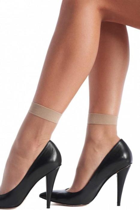 Ladie's sheer socks with lycra 20 den