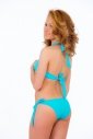 Bikini set gentle current front ribbons tie side bottoms 1199