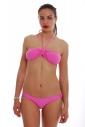 Bikini Set Bando with cushioning & Low waist 1181