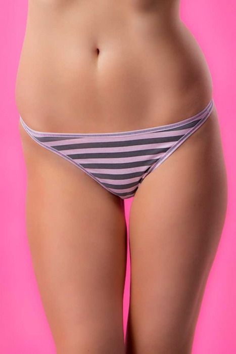 Еxcised Cotton Tanga Panties Print 1215
