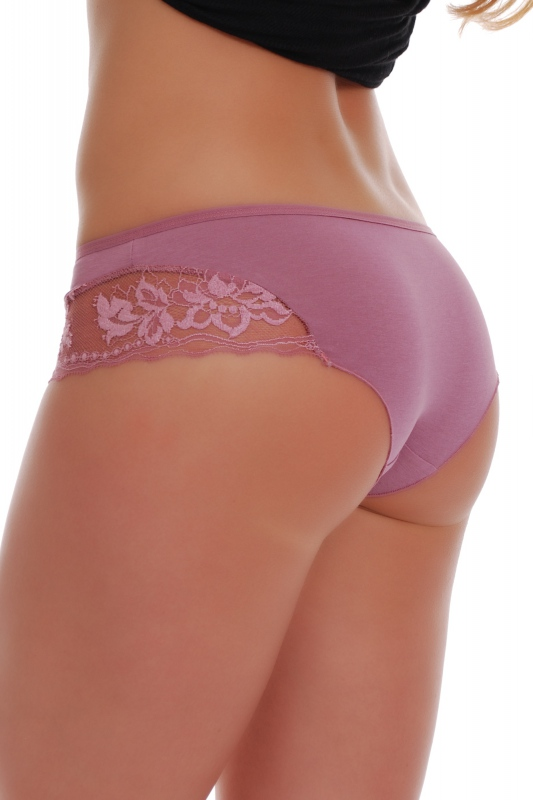 Cotton Boyshorts style Panties with Lace 1488