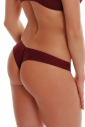 Sexy Microfiber Lace Brazilian Thong Panties 084