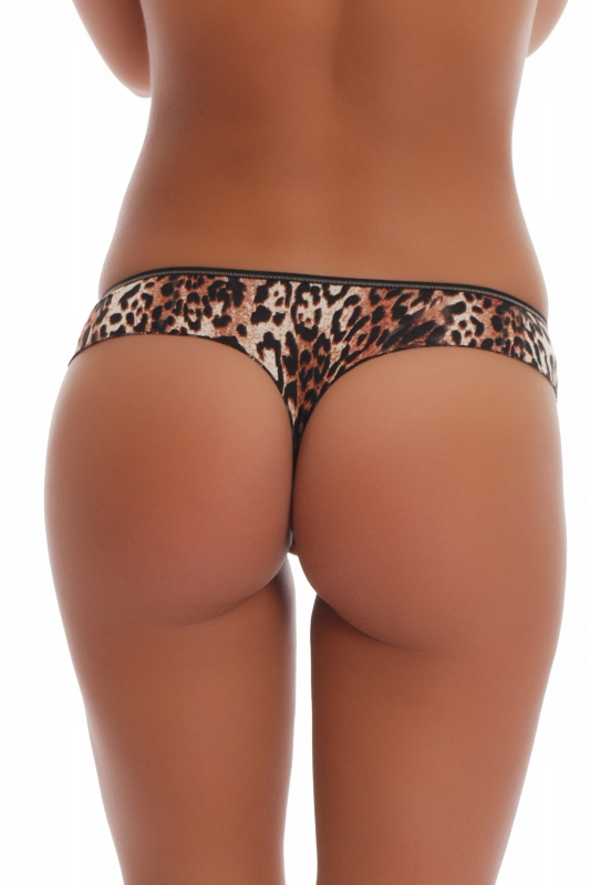 Cotton Panties Boyshorts Thong Style Print 1061