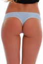 Cotton Panties Boyshorts Thong with Lace 1407