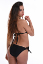 Bikini set soft triangle & ribbons tie side bottoms 1193