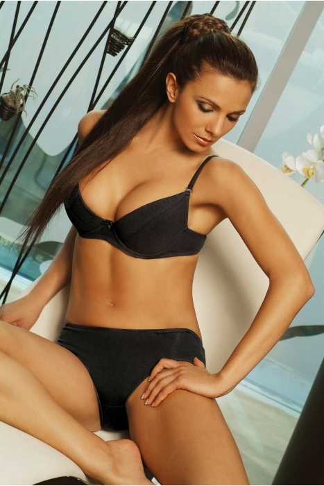 Ladies Cotton Set Bra & Bikini Panties 0120-1025
