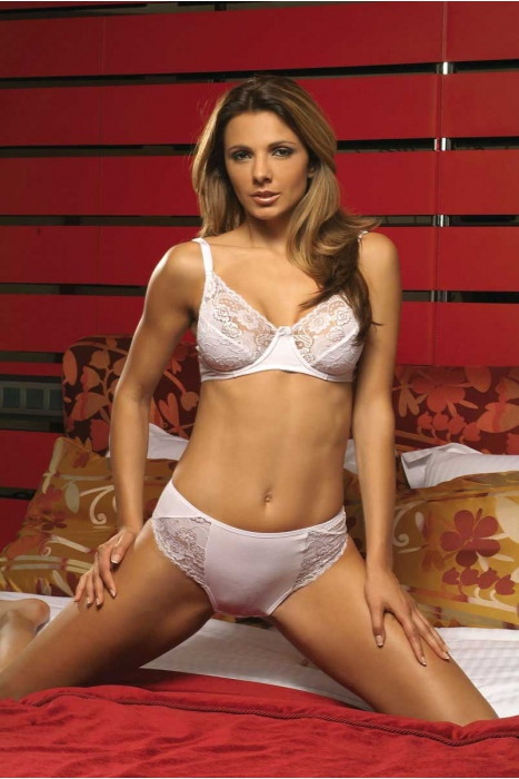 Ladies Cotton Set Corsage Bra & Clasic Brief 2103-026