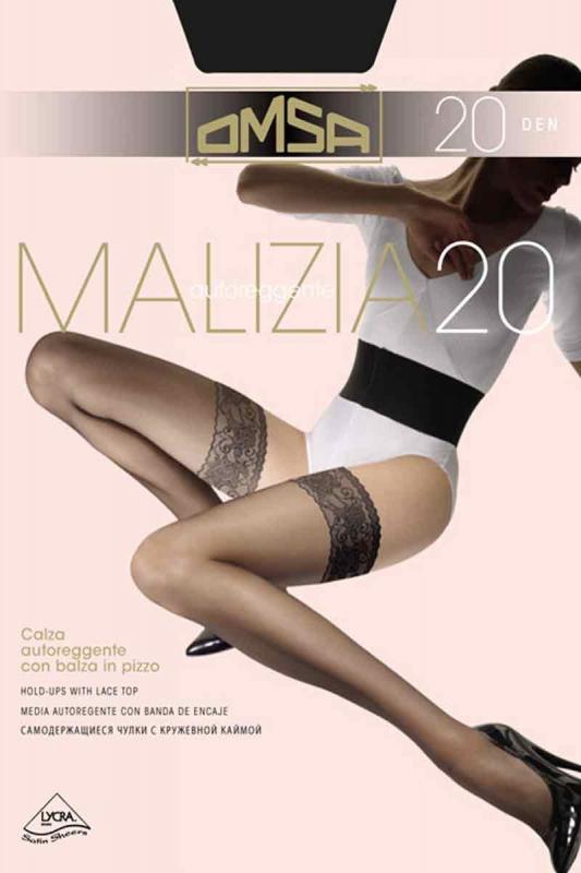 Κάλτσα σιλικόνης Classic 20 Den Omsa 258