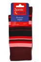 Women's patterned classic cotton socks