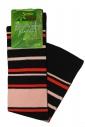 Women's patterned 3/4 bamboo socks