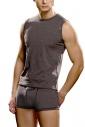 Ανδρικό T-shirt αμάνικο βαμβάκι Lycra Λόρδος 280