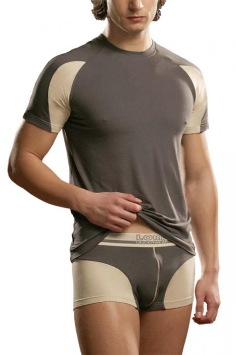 Αντρικά μπλουζάκια βαμβάκι Lycra Lord 282