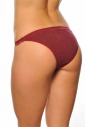 Еxcised Wool Tanga Panties with Lace 1835