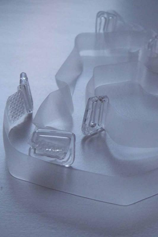 Σιλικόνη ιμάντες με πλαστική άκρη για Bras