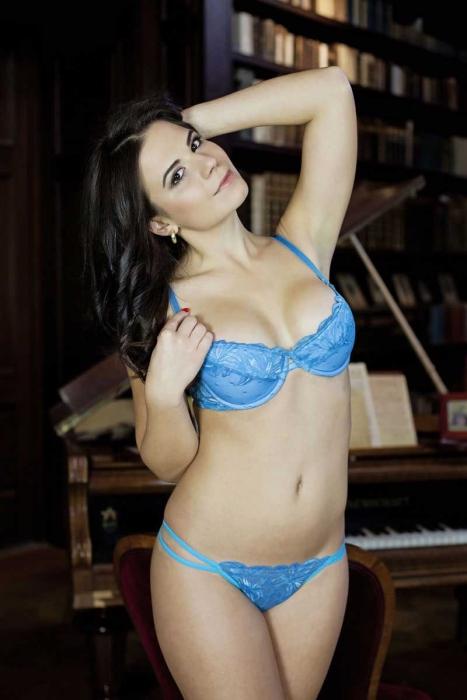 Ladies Lace Set Bra & G-String Panties 5611-0204
