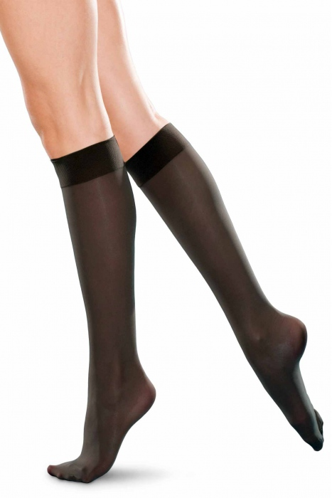 Knee high ladie's socks classic 20 den