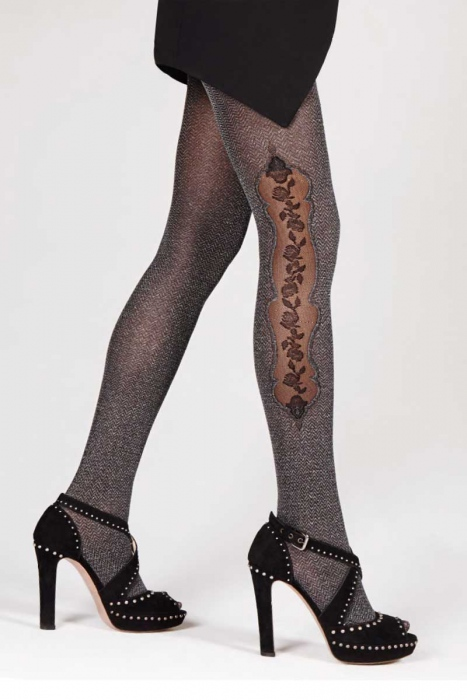 Fashion figural Tights 80 den Omsa 3410