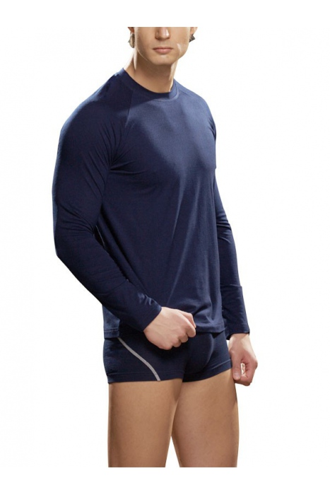 Men's T-shirt long sleeves Cotton Lycra Lord 286