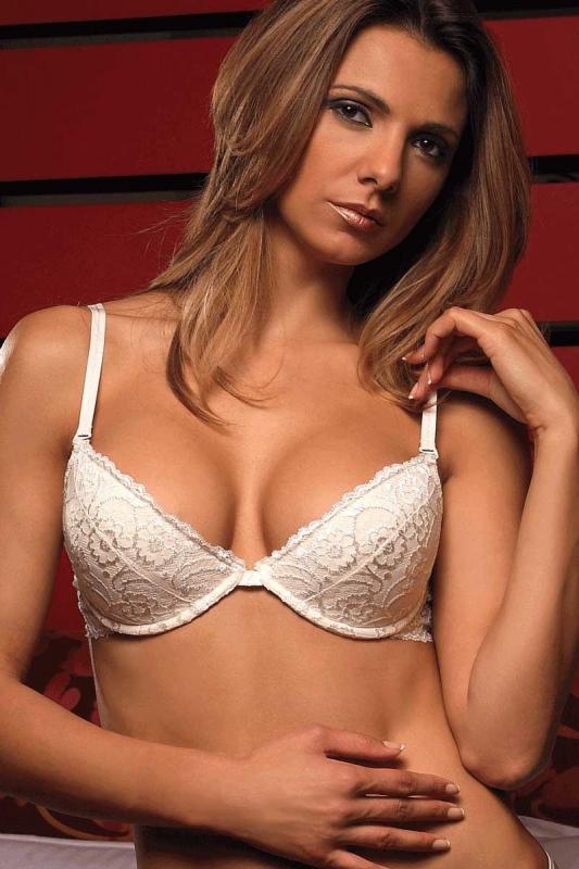 Stylish Lace Bra - Hard Cup 5611