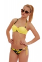 Bikini Set Push up balconette & bikini bottoms thin tie 1725