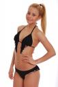 Bikini set Triangle soft and Brazilian arranged with exquisite falling fringes 1158