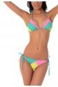 Bikini Set soft triangle & thin tie bikini bottoms 1157