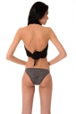 Еxcised Tulle Tanga Panties 2155 Black