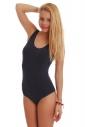 Cotton Women's Bodysuit Vest Bikini Style 1365