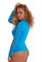 Women's Bodysuit Exclusive Long Sleeve Thong Style 1339