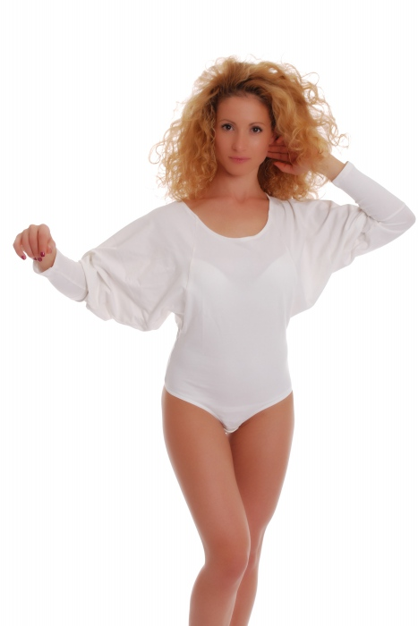 Γυναικεία Body Heat νυχτερίδα μανίκι Μανίκι σφεντόνα 15-88