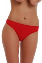 Classic Cotton High-cut Briefs Panties with Lace Back 1003
