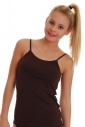 Women's Cotton Vest Thin Strap 1206