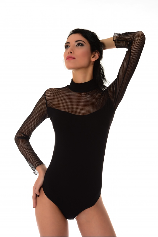 Cotton Women's Extravagant Bodysuit 1357