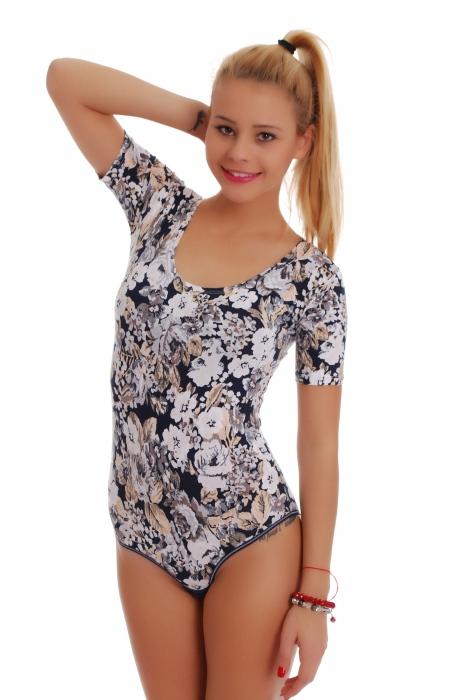 Bodysuit Short Sleeve Bikini 1450