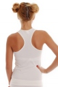 Women's Cotton Tank Top Open Back 1308