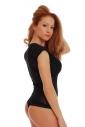 Sexy Womens Bodysuit Round Neck Sleeveles Thong 1479