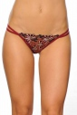 Classic Panties G-string style with Lace 0204