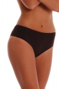Deep Cotton Briefs Panties with Wide Belt 1516
