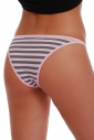 Еxcised Cotton Tanga Panties 1215А