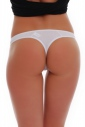 Classic Cotton Panties Thong Style with Lace 1456